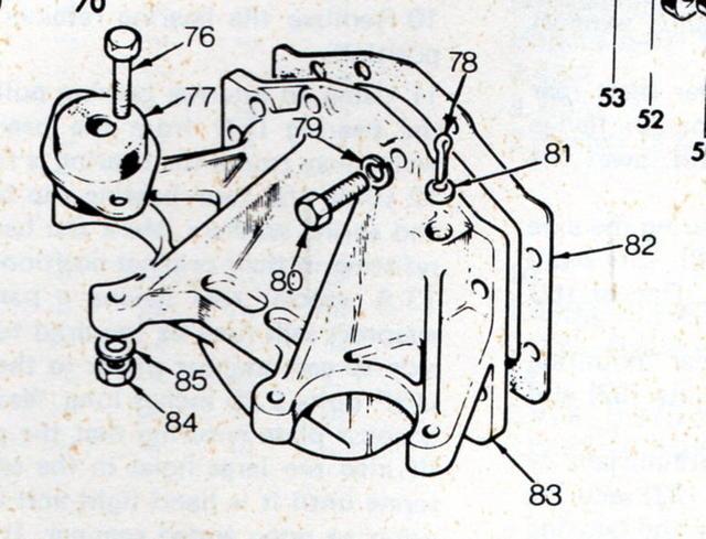 '74 TR6 driveline vibration--worse when off throttle : TR6