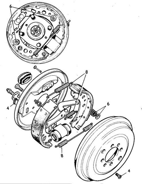 TR7 brake spring location : TR7 & TR8 Forum : Triumph