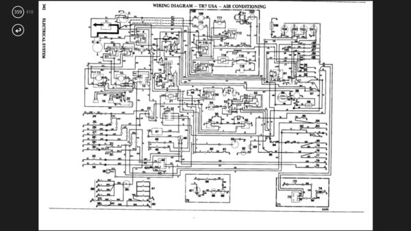 Triumph Stag Wiring Diagram Electrical Help Tr7 Amp Tr8 Forum Triumph Experience