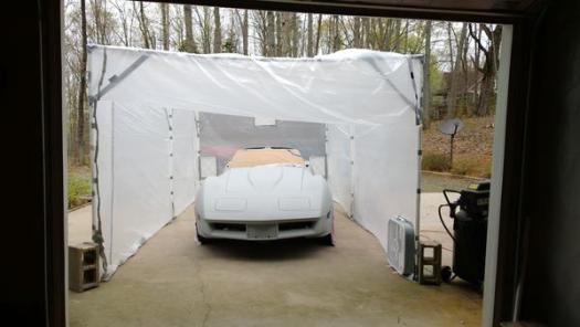Diy Paint Booth Spitfire Gt6 Forum Triumph Experience Car