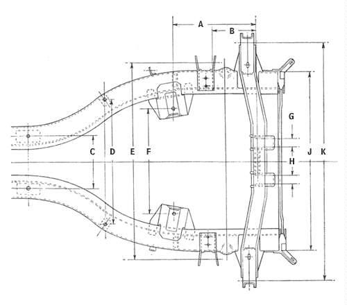 Location of brackets for CV Jointed assembly : Spitfire