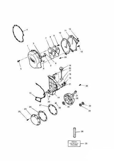 Engine Covers 4 Cylinder Silver Daytona 750 & 1000