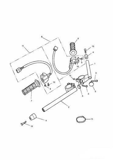 Handlebars and Switches Daytona 900, 1200, Super III