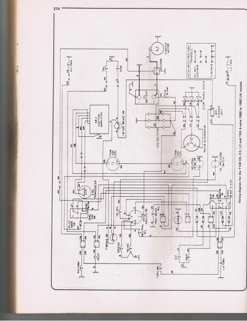 Wiring Diagram For ES Bonneville? Triumph Forum Triumph Rat
