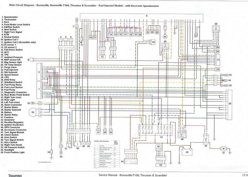 2002 Triumph Bonneville Wiring Diagram 2002 Triumph