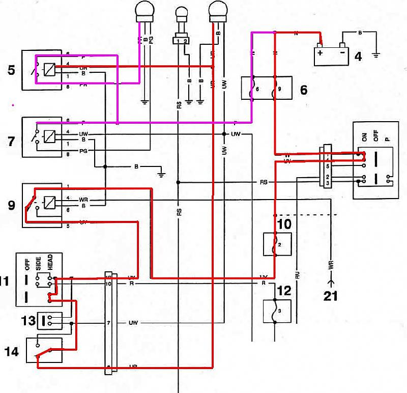 Wiring Diagram 955i Tiger