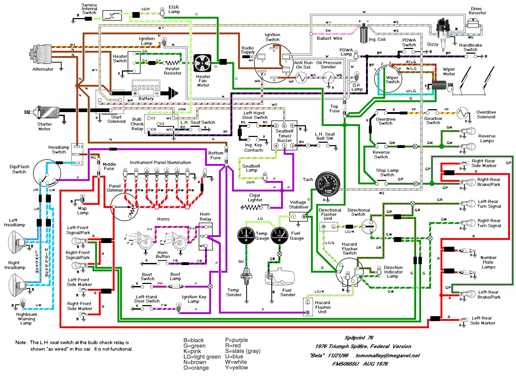 tacoma alternator wiring diagram