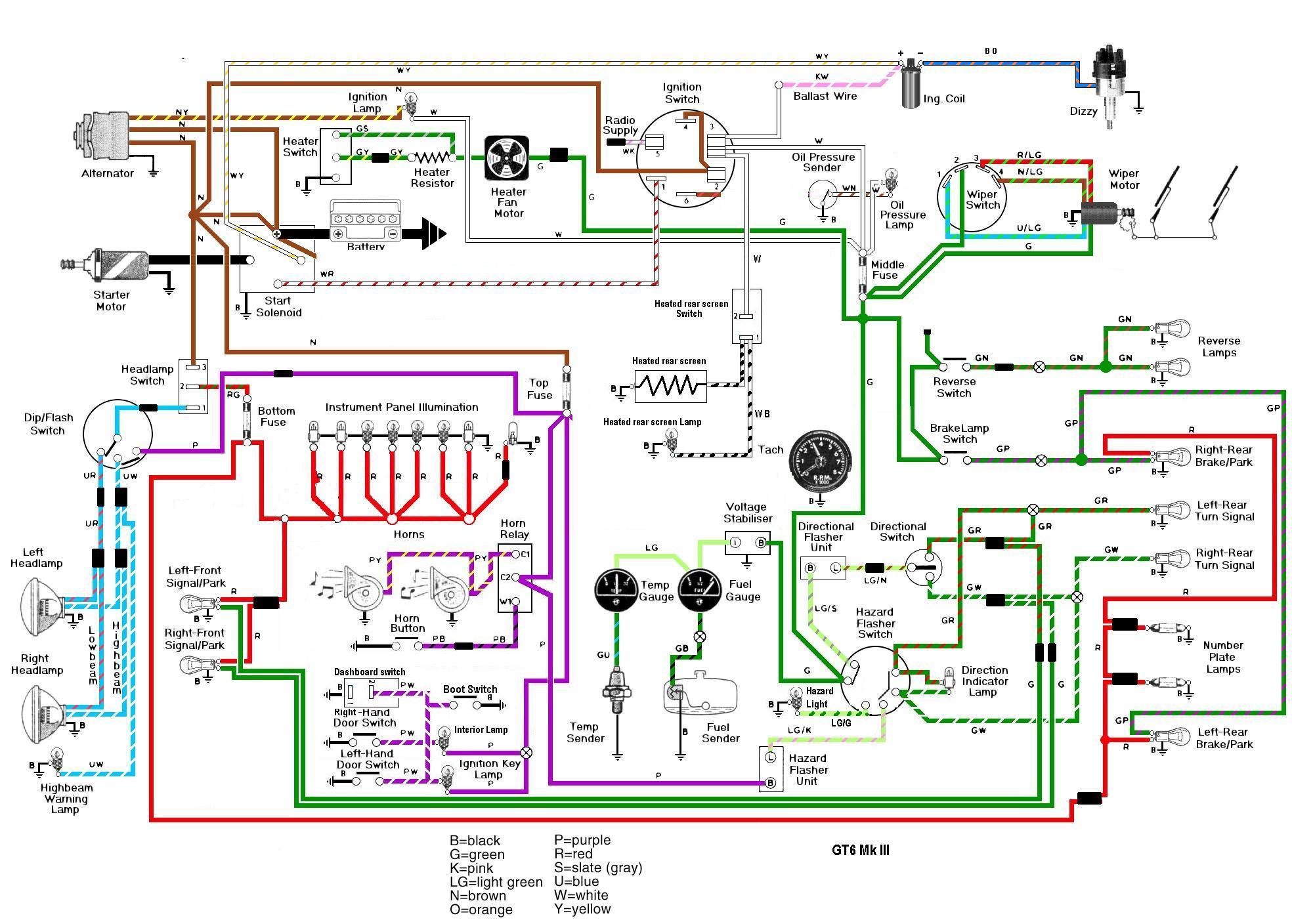 triumph spitfire wiring schematic