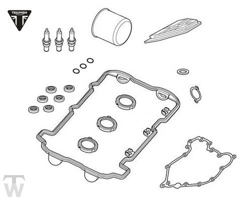 Triumph Sprint GT Servicekit Sprint GT 1050 Art.Nr.: T3990006