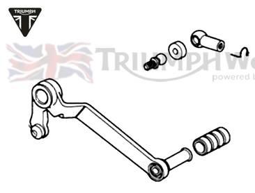 Triumph Sprint GT Schalthebel Sprint GT 1050 Art.Nr.: T2081661