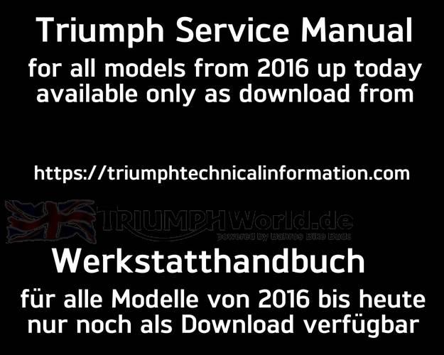 Triumph Street Triple 765 Service Manual from Mj.16
