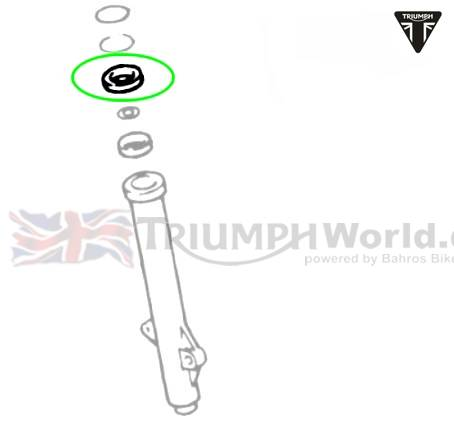 Triumph Rocket3 Gabelsimmerring Rocket III Art.Nr.: T2045556