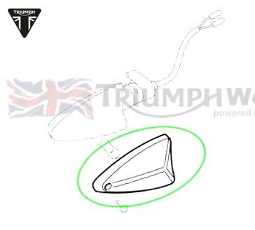 Triumph Tiger Blinkerglas Rv Links Rhf Lhr Tiger