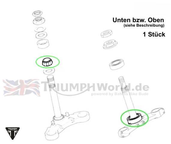Triumph Speed4 Lenkkopflager Speed Four Art.Nr.: T3800052