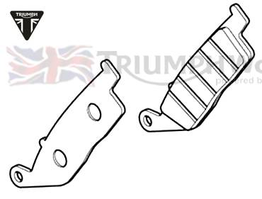 Triumph Tiger Bremsbeläge Tiger 800 XC Art.Nr.: T2020377