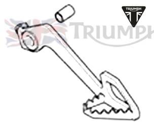 Triumph Tiger Fussbremshebel Tiger 800 XC Art.Nr.: T2022041