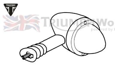 Triumph Bonneville Blinker Bonneville T100 EFI Art.Nr