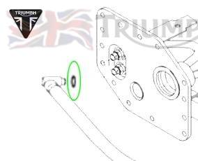 Triumph Daytona T595 Dichtring Benzinanschluss Daytona