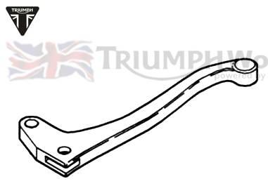 Triumph Speed Triple Kupplungshebel (nicht einstellbar