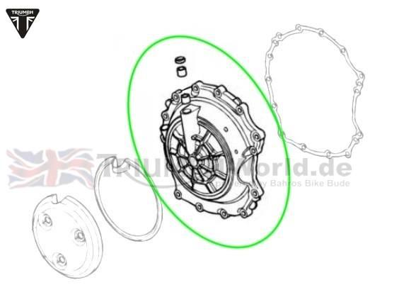Triumph Speed Triple Kupplungsdeckel Speed Triple 955i ab