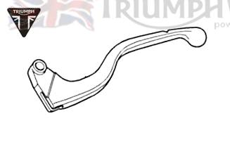 Triumph Speed4 clutch lever from VINxx (note details