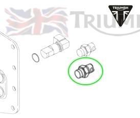 Triumph Speed Triple Benzinkupplung OEM weiß Speed Triple