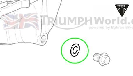 Triumph Sprint ST Ölablassschraube Dichtring M14x3.0