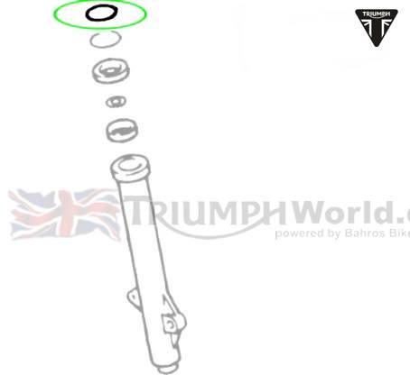Triumph Rocket3 Gabelsimmerring Staubdichtung Rocket III