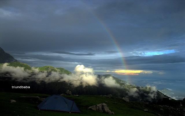 Triund Rainbow