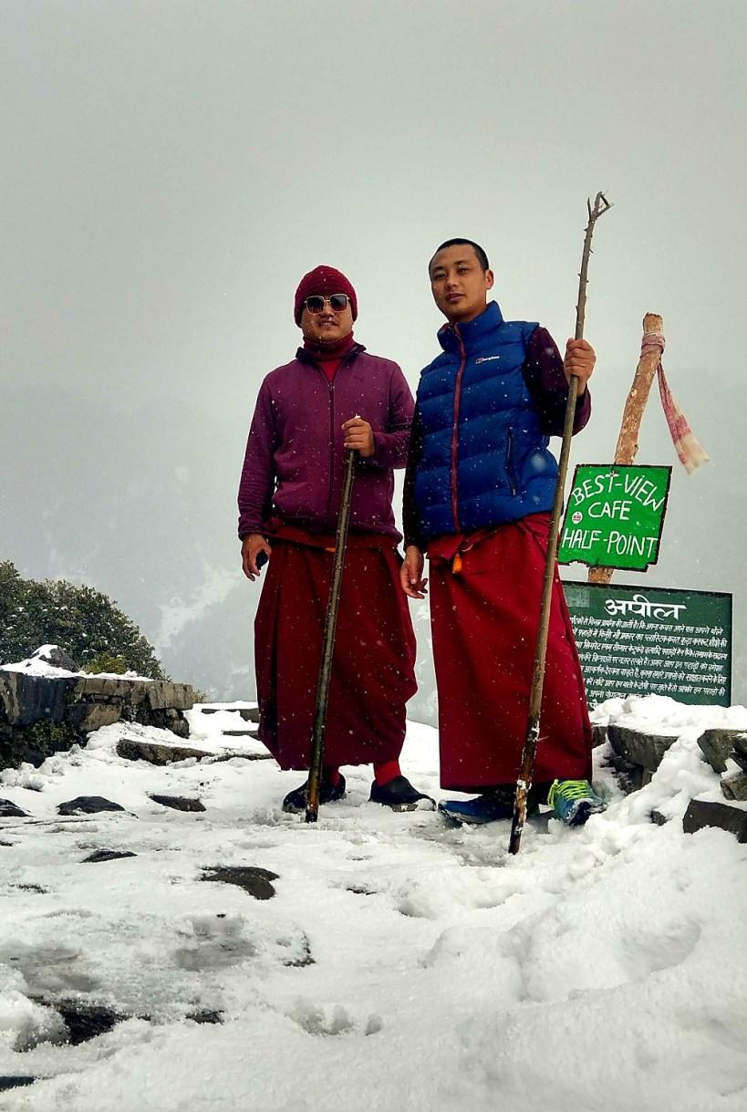 Monks from Bhagsu
