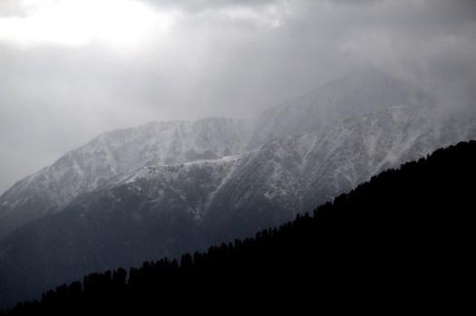 Cloudy towards Bharmour
