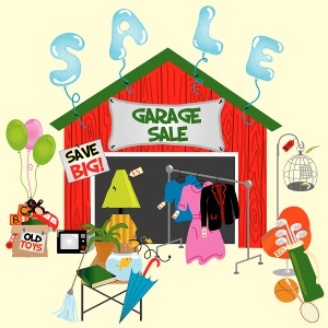 Wood Ranch Garage Sale 2011...The Tradition Continues