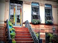 Photo: Customized Decorative Security Gate & Bowed Window ...