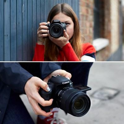 Reflex Canon eos 77d