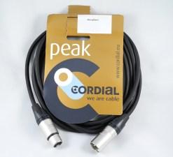 CORDON AUDIO XLR 3BR M/F  5m