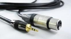 CORDON AUDIO XLR 3BR F / JACK 3.5 M - 20m