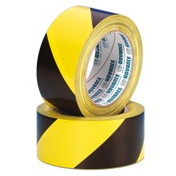 TAPE PVC MARQUAGE AT8H ADVANCE 50mm*33m JAUNE/NOIR