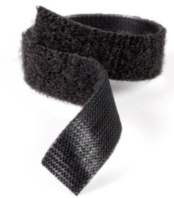 VELCRO ONE WRAP 50 MM  NOIR AU METRE