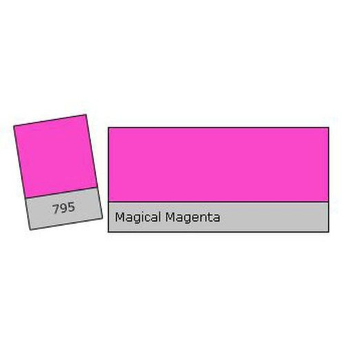 FILTRE LEE FILTERS 795 MAGICAL MAGENTA (feuille)