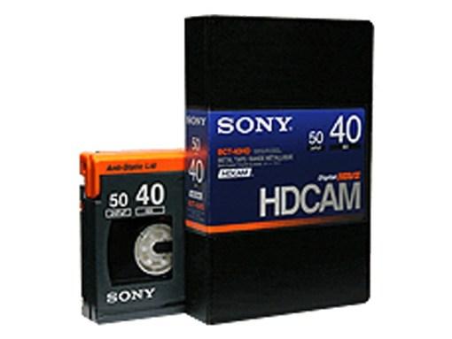 K7 HDCAM SONY 40'