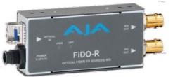 CONVERTISSEUR FIBRE VERS 2 SD/HD-3G-SDI AJA FIDO-R