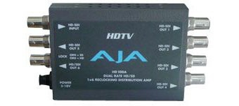 DISTRIBUTEUR AMPLIFICATEUR HD/SD 1x6 AJA