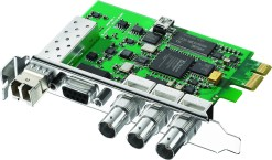 CARTE D'ACQUISITION BLACKMAGIC DECKLINK FIBRE OPTIQUE