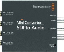 Blackmagic Design Mini Converter SDI vers Audio - Convertisseur