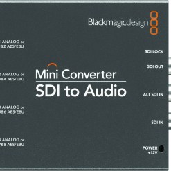 CONVERTISSEUR BLACKMAGIC SDI VERS AUDIO