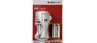 CHARGEUR DE PILES USB AGFA LR06