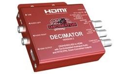 CONVERTISSEUR 3G/HD/SD-SDI VERS HDMI + AUDIO DE-EMBEDDED