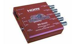 QUAD SPLITTER E/S 3G/HD/SD-SDI + S HDMI MD-QUAD