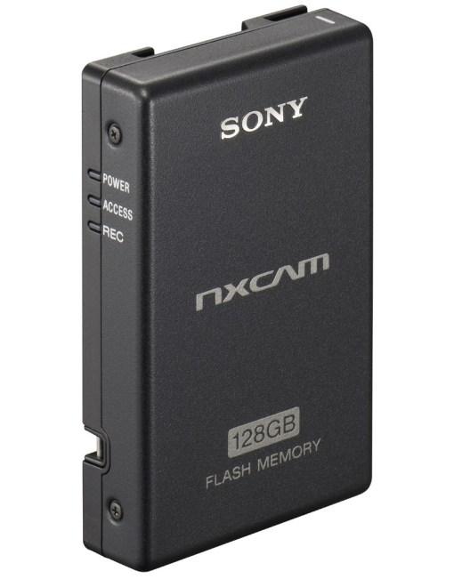 ENREGISTREUR VIDEO SUR SSD 128GO SONY POUR NXCAM