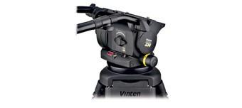Vinten 250 Vision Noir + 2 Manches + Trépied Double alu + Sac - Kit Trépied et Rotule Vidéo